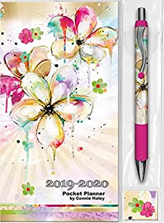 2019 Color Splash Connie Haley Pocket Planner & Pen