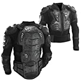 Ediors® Motorcycle Full Body Armor Protector Pro Street Motocross ATV Titan Sport Jacket Shirt (Large)