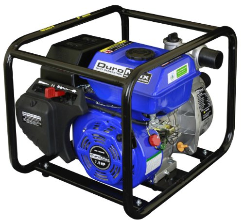 DuroMax XP650WP 3-Inch Intake 7 HP OHV 4-Cycle 220-Gallon-Per-Minute Gas-Powered Portable Water Pump Engine Gas Power Water Pump