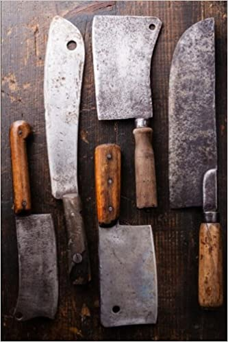 Book Butcher Meat Cleavers Journal: 150 page lined notebook/diary