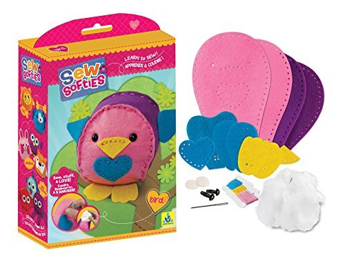Softie Bird (The Orb Factory Sew Softies Bird Building Kit by The Orb Factory)