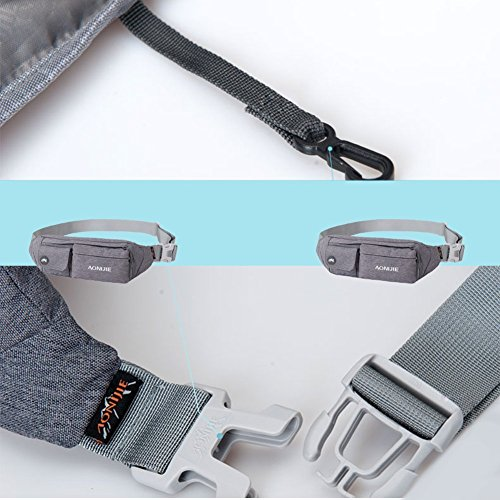 840ff0b32b83 AONIJIE Premium Waterproof Waist Pack Running Belt Exercise - Import It All