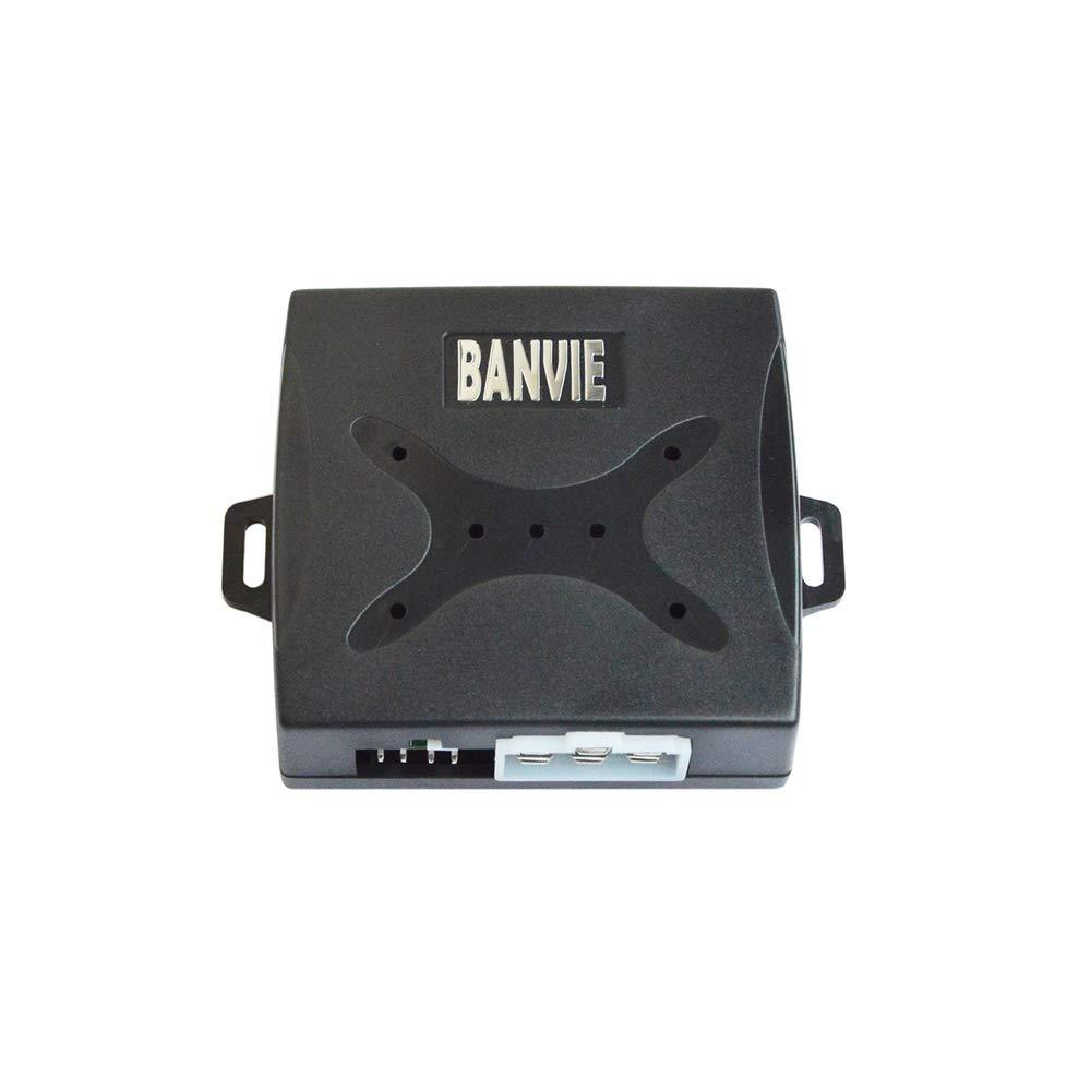 with Siren ② Remote Engine Starter ③ Push to Start Iginition Button BANVIE ① Passive keyless Entry Car Alarm System