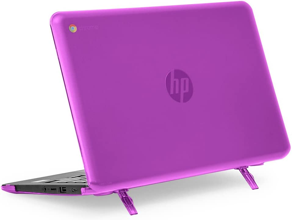 """mCover Hard Shell Case for 11.6"""" HP Chromebook 11 G6 EE / G7 EE/ 11a-NBxxxx laptops (NOT compatible with pre-2018 HP C11 G4EE / G5EE) (HP C11 G6EE Purple)"""