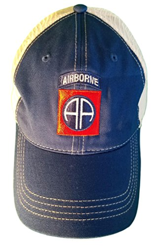 Minnesota Bobs 82nd Airborne Patch Unstructured Trucker Style Baseball Cap