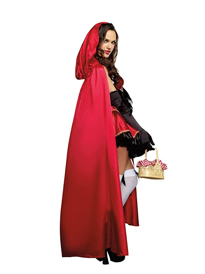 amazoncom dreamgirl womens little red riding hood costume clothing