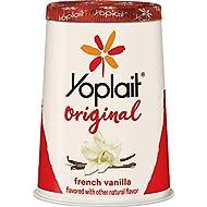 Yoplait Original Yogurt, French Vanilla, Low Fat Yogurt, 6 oz