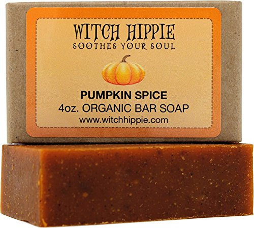 Pumpkin Spice 4oz Natural Bar Soap by Witch Hippie]()