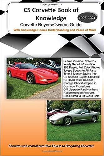 corvette c5 manual download