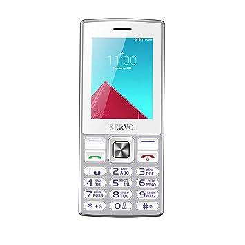 Teléfono Original SERVO V9300 2.4 Pulgadas Tarjeta SIM Dual GPRS Vibración Fuera de la Radio FM Celular con Teclado Ruso: Amazon.es: Electrónica