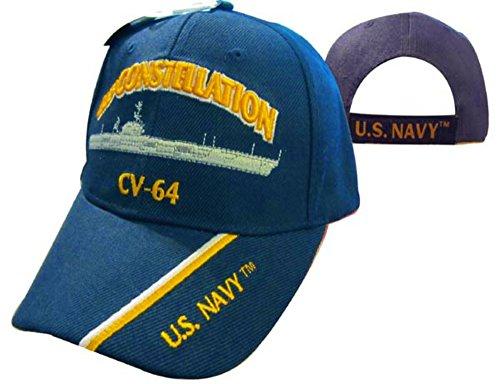 (U.S.S. Constellation CV-64 Cap )