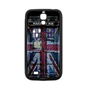 Vintage Police Box Protective Cell Phone Cover Case for SamSung Galaxy S4,SIV Cases Designed by HnW Accessories