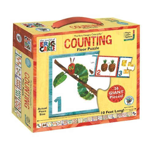rle Very Hungry Caterpillar Counting Floor Puzzle ()