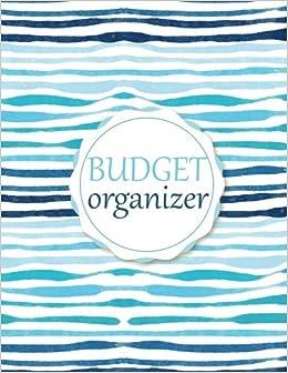 budget organizer budget planner financial planing large print