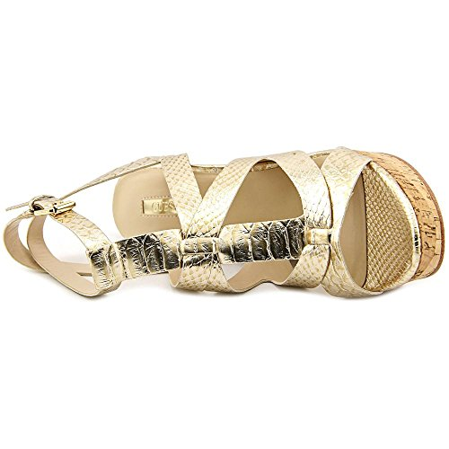 Cuñas de harlea corcho Guess Gold wqapg4xxX