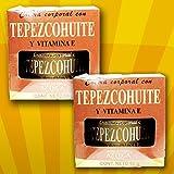 2 Crema Corporal Tepezcohuite Y Vitamina E, Crema Hidratante.