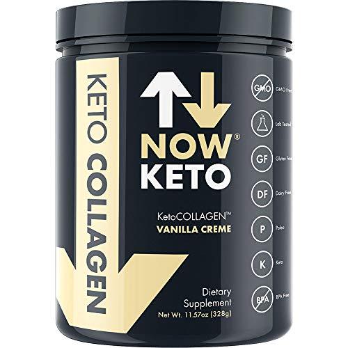 NOWKETO® Keto Collagen™ Peptides w/KetoMCT™ Powder  - K