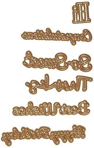 Spellbinders S4-563 Shapeabilities Phrase Set, Large (Scrapbook Die Cut Phrase)