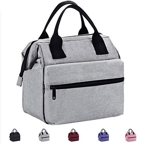 Srise Lunch Box Insulated Lunch Bag For Men & Women Meal Prep Lunch Tote Boxes (Box Bags Lunch)