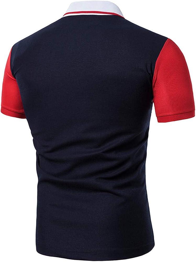 143b8eda42 Men's Fashion Business Polo Shirt, MmNote Active Performance Sports ...