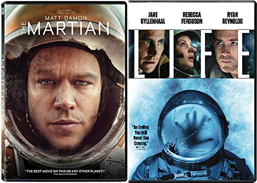 Wait Till The END Of The Outer Spaces: The Martian (Matt Damon) & Life (Ryan Reynolds)