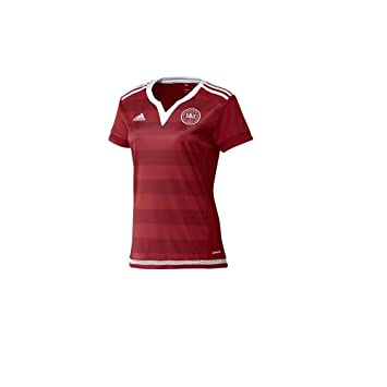 e7e282fb5 adidas Denmark Home Shirt - Women s Football Jersey  Amazon.co.uk ...