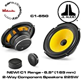 JL Audio C1-650 6-1/2' 2-Way Component Car Audio Speakers