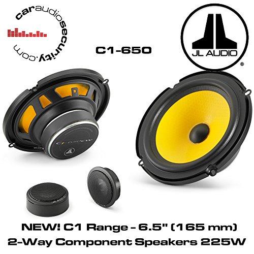 JL Audio C1-650 6-1/2″ 2-Way Component Car Audio Speakers