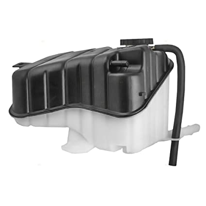 Coolant Overflow Tank Recovery Bottle Reservoir with Low Fluid Sensor  Replacement for Cadillac Oldsmobile Pontiac 25774005 AutoAndArt