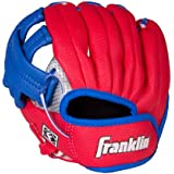 Franklin Sports Air Tech Left Handed Youth Baseball Glove, 9-Inch