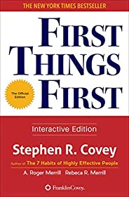First Things First (English Edition)
