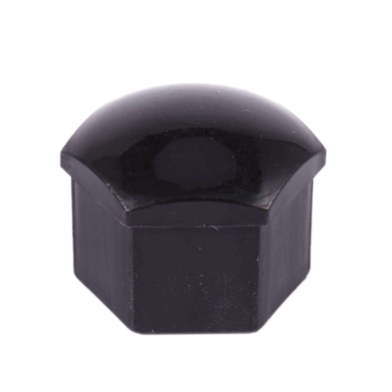 Color Negro WOVELOT 20Pcs Tapas De Pl/ástico del Coche De 17 Mm Pernos Cubiertas Ruedas De Aleaci/ón para Skoda Mercedes