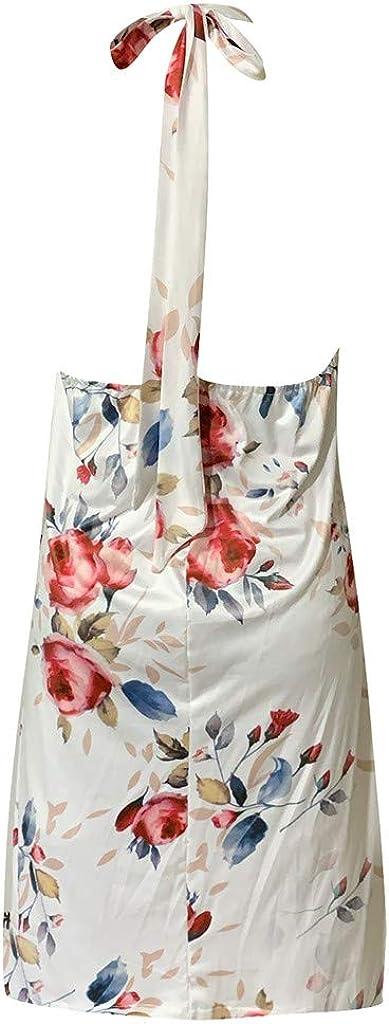 SANFASHION Bekleidung,Aus Irgendeinem,Aus Irgendeinem im Gleichen,Minikleid Kurz Hemdkleid Blusekleid Drucken Partykleid Cocktailkleider
