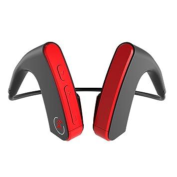 Docooler E1 Auriculares BT inalámbricos Auriculares de conducción ósea Auriculares Deportivos a Prueba de Sudor Reducción