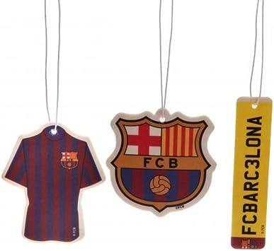 Amazon.es: Accesorios de coche - ambientador oficial del FC Barcelona (paquete de 3) - originales ideas de regalo de fútbol