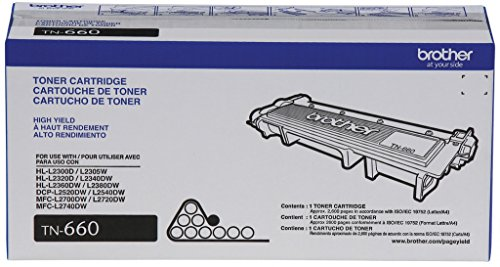 Изображение товара Brother Genuine TN660 High Yield Mono Laser Black Toner Cartridge