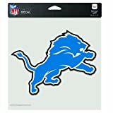 NFL Detroit Lions 8-by-8 Inch Diecut Colored Decal