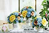 French Country Crafts Decals White Ceramic Vase Flower Ornaments Creative Decoration, Without Handle, Set Of 3 For Centerpieces Christmas Birthday Wedding Party Gift Desktop Home Decor