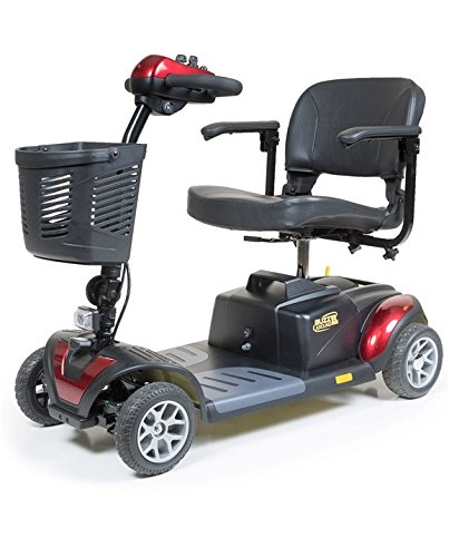 Golden Technologies 2015 Buzzaround XL 4 Wheel Mobility Scooter in Red - GB147