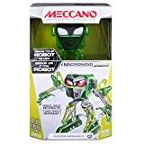 Meccano - Micronoid – Green Blaster, Programmable Robot Building Kit, 115 Pieces, For Ages 8+, STEM Construction Education Toy