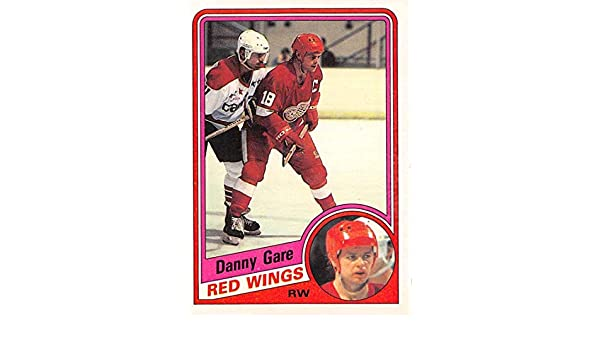 Amazon com: 1984-85 O-Pee-Chee #54 Danny Gare Red Wings NHL