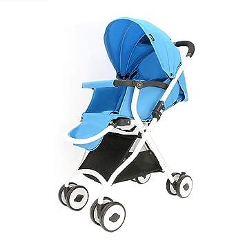 QZX Sillitas de bebé Ligeras con Techo Solar Visible. Rueda ...