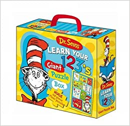 646b4cf0 Dr Seuss Cat in Hat Learn Your 123's Floor Puzzle: 9781743009734 ...