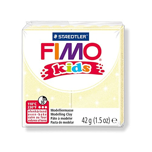 perlesmania.com 1/pan pasta Fimo kids amarillo perla 42/Gr Ref 8030/ /106