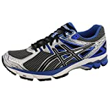 ASICS Men's GT-1000 3 4E Running Shoe,Lightning/Black/Royal,9.5 4E