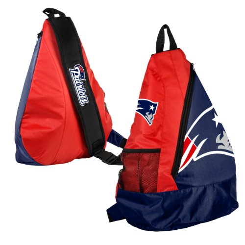 Forever Collectibles NFL New England Patriots Core Sling Bag