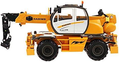 LZ おもちゃ 多機能クレーン1:50合金工学車両モデル特殊車両車輪付き多機能クレーン 子供のおもちゃ