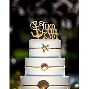 516mWfy3wAL._SS300_ Beach Wedding Cake Toppers & Nautical Cake Toppers