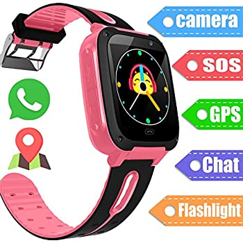Amazon Com Kids Smart Watch Smart Phone Watch For 3 12