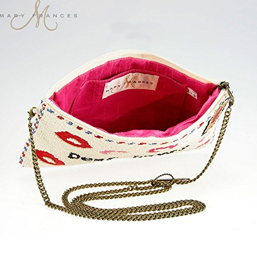 Beaded FRANCES With body Love Kiss MARY Clutch Sealed A Cross Letter Owa0U1qF